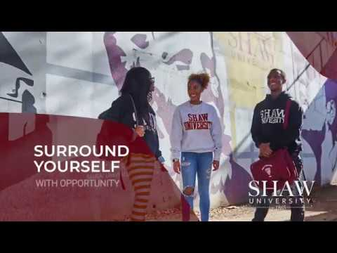 Your future begins at Shaw University
