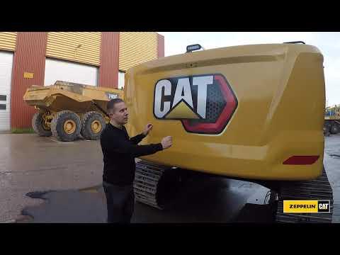 Cat bandgrävare 320, 323, 330  - Genomgång och fördelar runt maskinerna