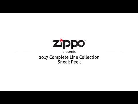 Zippo 2017 Complete Line Collection Sneak Peek