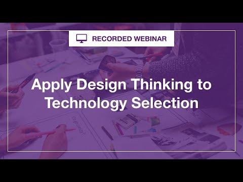 Webinar: Apply Design Thinking to Designing Technology