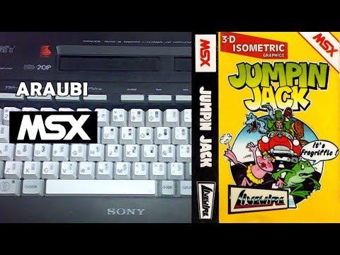 Jumpin Jack (Livewire Software, 1986) MSX [303] Walkthrough