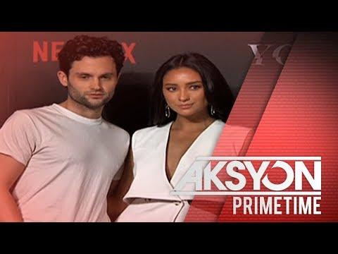 Shay Mitchell at Penn Badgely ng Netflix original series You, bumisita sa Pilipinas