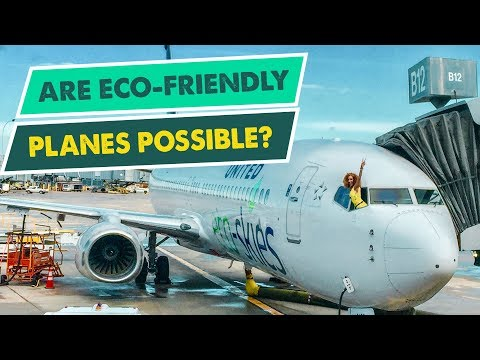 IS THIS THE MOST ECO-FRIENDLY FLIGHT IN HISTORY? | Biofuel + Zero Waste