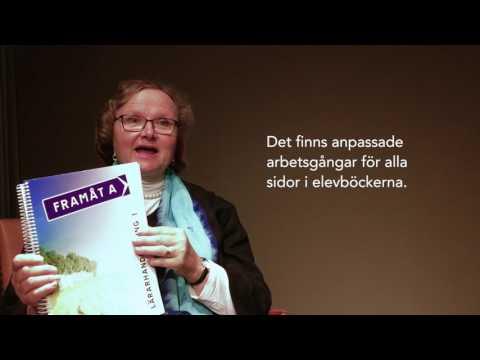 Margareta Mörling berättar om Framåt A - för elever som läser sfi A