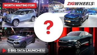 5 Tata Launches We're Excited About! | HBX, Gravitas, Altroz EV & The Mysteries | Zigwheels.com