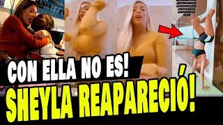 SHEYLA ROJAS REAPARECIÓ TRAS ESCÁNDAL0 CON LUIS ADVINCULA Y CHATS PRIVADOS