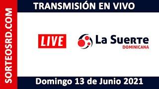 La Suerte Dominicana EN VIVO ? Domingo 13 de junio 2021 – 12:30 PM