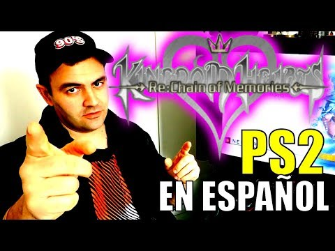 KINGDOM HEARTS CHAIN OF MEMORIES EN ESPAÑOL || GAMEPLAY PLAYSTATION 2 TRADUCCIÓN CASTELLANO