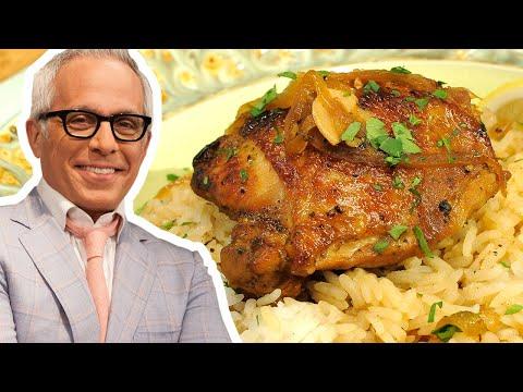 Geoffrey Zakarian Makes Filipino Adobo Chicken   Food Network