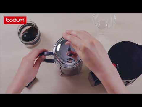 BODUM French Press Coffee: 4 Step Guide | ボダム フレンチプレスコーヒーの淹れ方4ステップ