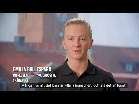 Bli Plåtslagare - Emilia - Stolt Trygg Fri