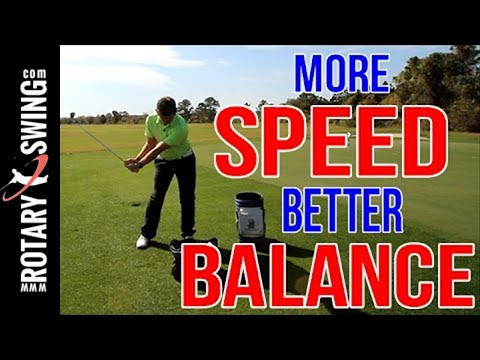 Golf Swing SPEED and BALANCE Drill