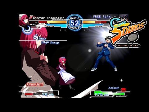 "MELTY BLOOD ACTRESS AGAIN CURRENT CODE - ""CON 5 DUROS"" Episodio 831 (+ETERNAL CHAMPIONS) (1cc) (CTR)"