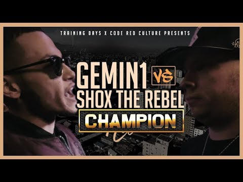 connectYoutube - CHAMPION | GEMIN1 VS SHOX THE REBEL - CODE RED