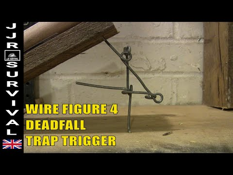 Figure 4 Deadfall Trap From Wire