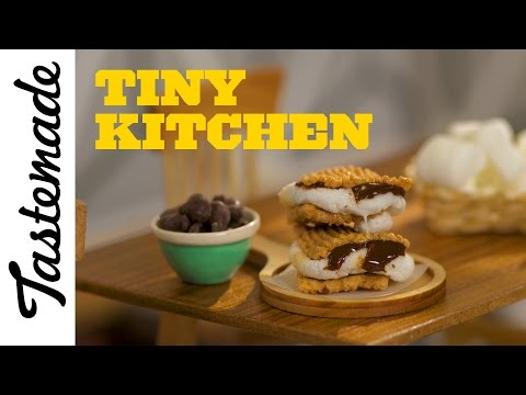 Tiny S'mores l Tiny Kitchen