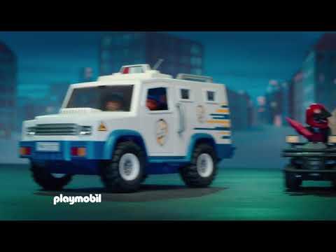 PLAYMOBIL présente du suspense et d'action ! (Belgique)