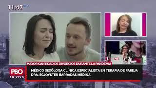 Médico Sexóloga Clínica especialista en Terapia de pareja Dra. Ecjoyster Barradas Medina: DIVORCIOS????