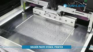Matrix Platform Manufacturing: 2 - Solder Paste Stencil Printer
