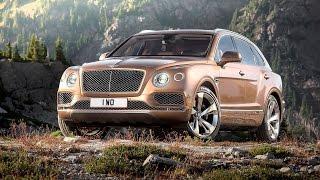 2015 Bentley Bentayga revealed - manufacturer video