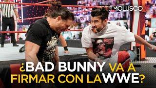 Confirmado Bad Bunny en WrestleMania y posible firma millonaria con la WWE