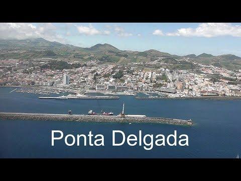 AZORES: Ponte Delgada city - São Miguel Island