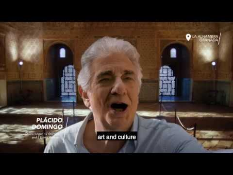 Is it possible to fall in love in 10 sec? Plácido Domingo - Granada #SpainIn10sec