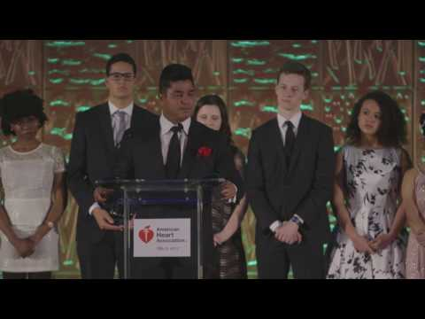 Ajay Raju, 2017 Heart Ball Honoree, Sheds Light on Philadelphia Health Disparities