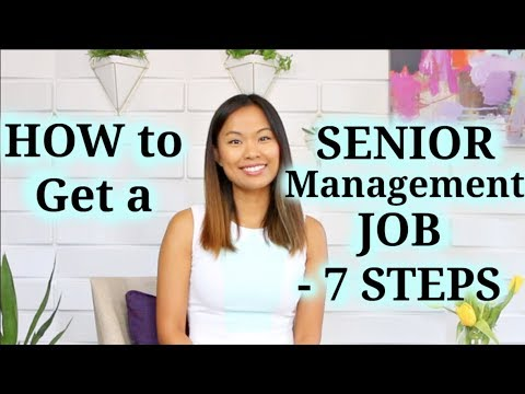 Executive Job Search - 7 Steps to Land a Senior Management Job