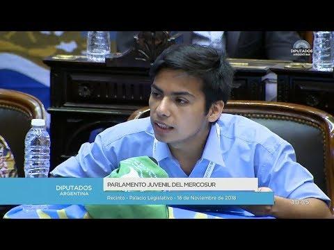 ¡Es para vos es para mí, el Parlamento…es juvenil!  #ParlamentoJuvenil2018