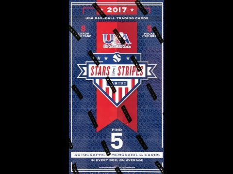 Box Busters: 2017 Panini USA Baseball Stars and Stripes