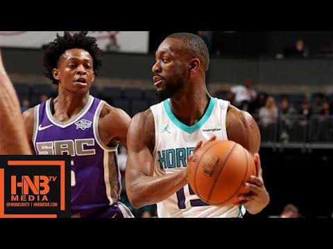 Sacramento Kings vs Charlotte Hornets Full Game Highlights / Jan 22 / 2017-18 NBA Season