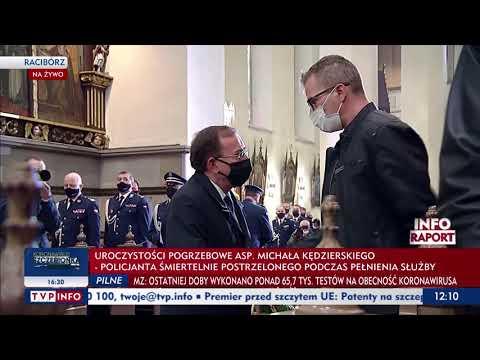 Uroczystości pogrzebowe śp.  mł.  asp.  Michała Kędzierskiego