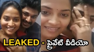 Tv Serial Actress Sravani backslashu0026 Devaraj Reddy Private Video In Hotel Room | Sravani Video Leak | TFPC - TFPC