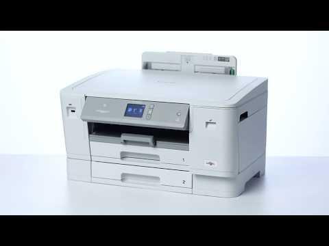 Tour de producto Brother HL-J6000DW. Impresora Tinta Profesional A4/A3