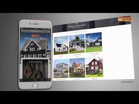Måla huset i en brun eller beige färg?