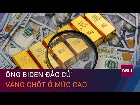 Giá vàng hôm nay 8/11: Ông Biden đắc cử Tổng thống Mỹ, vàng chốt ở mức cao   VTC Now