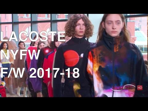 LACOSTE | FALL WINTER 2017 - 2018 | FASHION SHOW