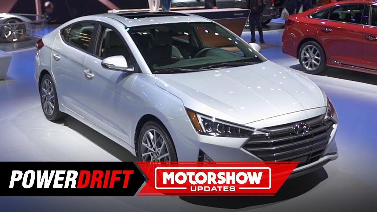 2019 Hyundai Elantra : No more fluidic : 2018 LA Auto Show : PowerDrift