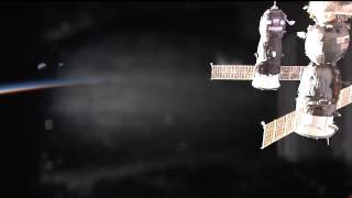 Russian Cargo Craft Arrives at the International Space Station