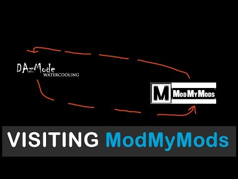Detailed vlog of visiting ModMyMods