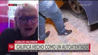Carlos Valverde analiza el caso del ataque a la sede de la COB en La Paz