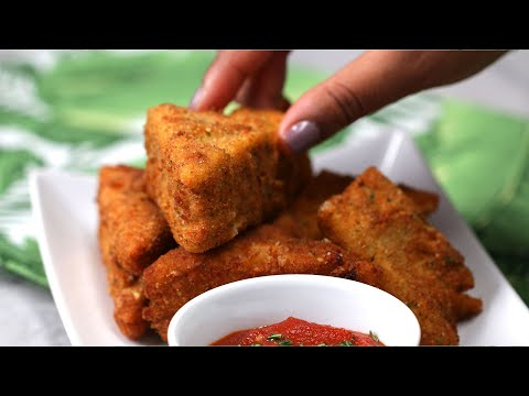 Dreamy Deep Fried Lasagna ? Tasty