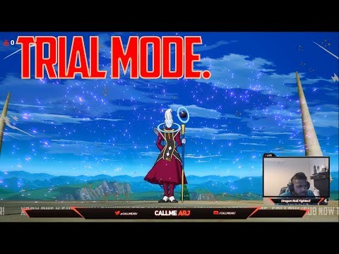 DRAGON BALL FIGHTERZ Trial Battle Gameplay! Beerus Kid Buu Nappa [No Commentary]