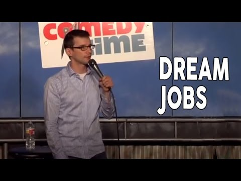 Video game testers and other dream jobs (Stand Up Comedy)