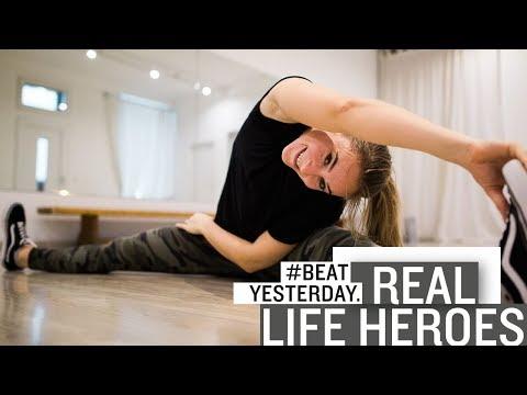 """""""Real Life Hero"""" Tracy - Mit Sport und Humor lebt sie #BeatYesterday"""