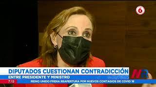 Presidente Alvarado pide intervención del Conavi