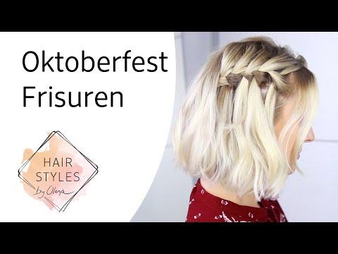 Oktoberfest Frisuren mit Olesja