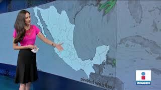 Reporte del clima 9 de abril de 2021 | Noticias con Yuriria Sierra