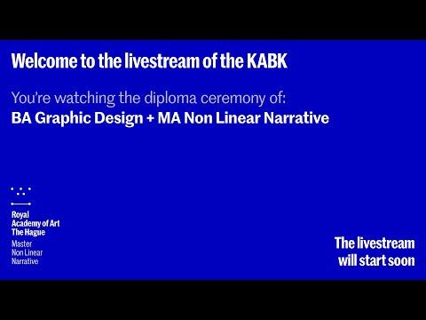 2020 Diploma Ceremony BA Graphic Design and MA Non Linear Narrative